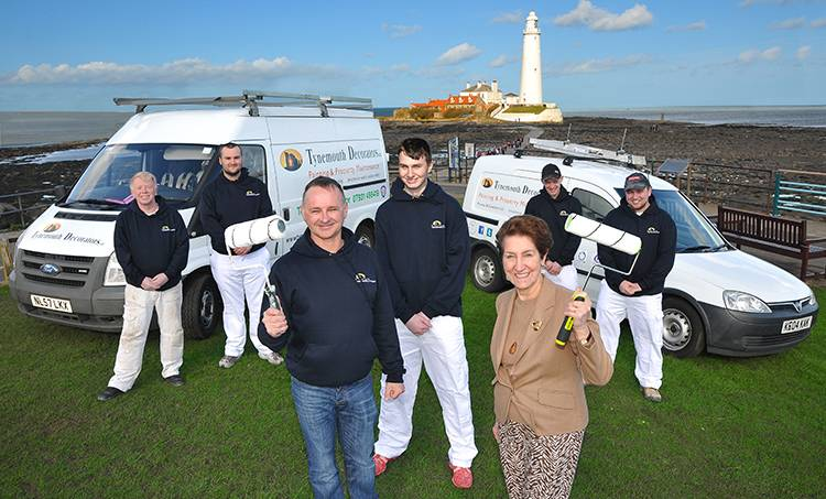"Tynemouth Decorators | ""We need to make a commitment to our future workforce"""